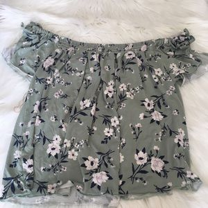 Women's American Eagle Off The Shoulder Top
